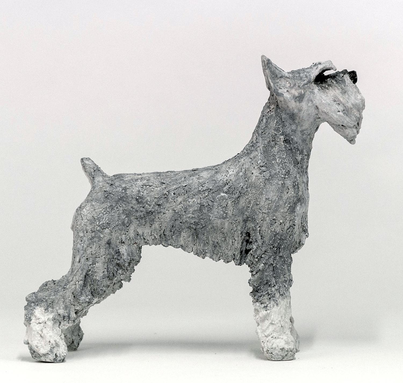 Schnauzer Salt & Pepper – Dog Sculptures