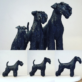 Black Schnauzer ceramic