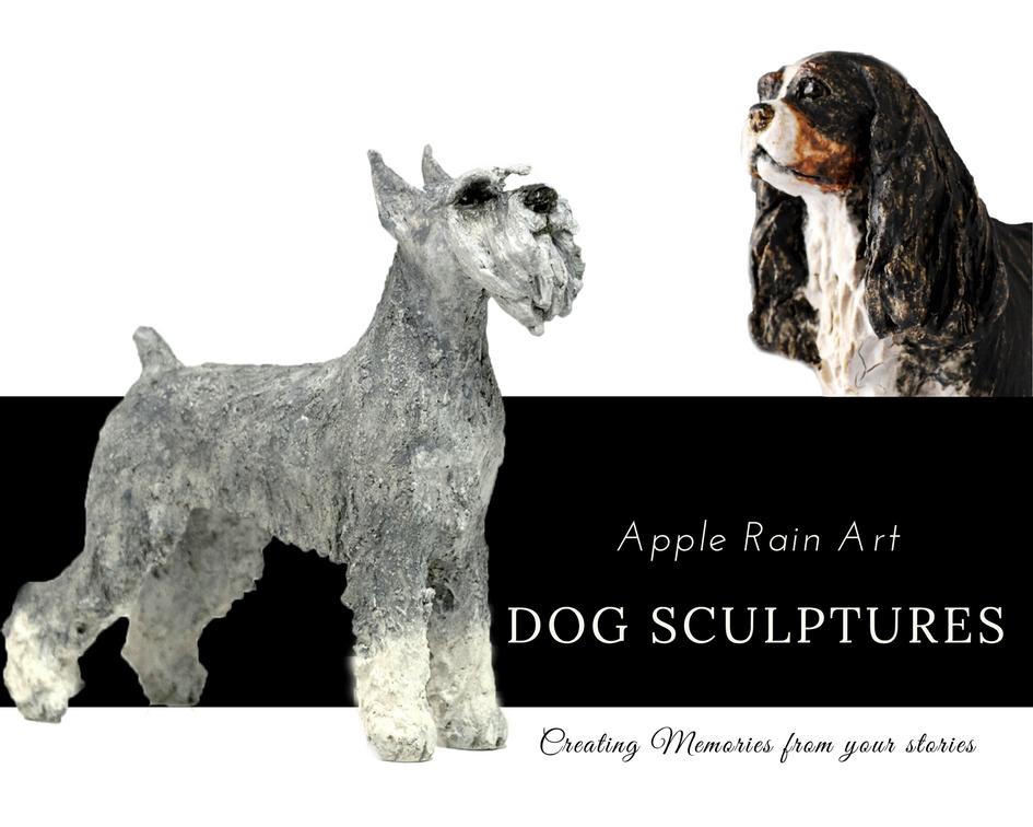 dog sculptures pet portraits