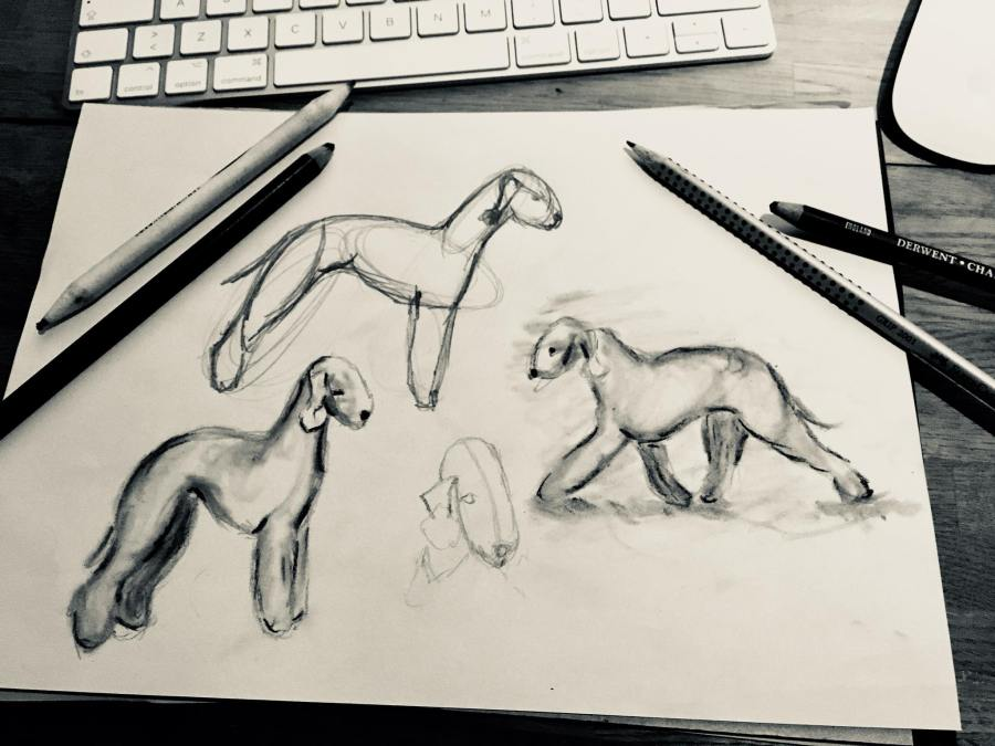 dog art – Page 2 – Apple Rain Art